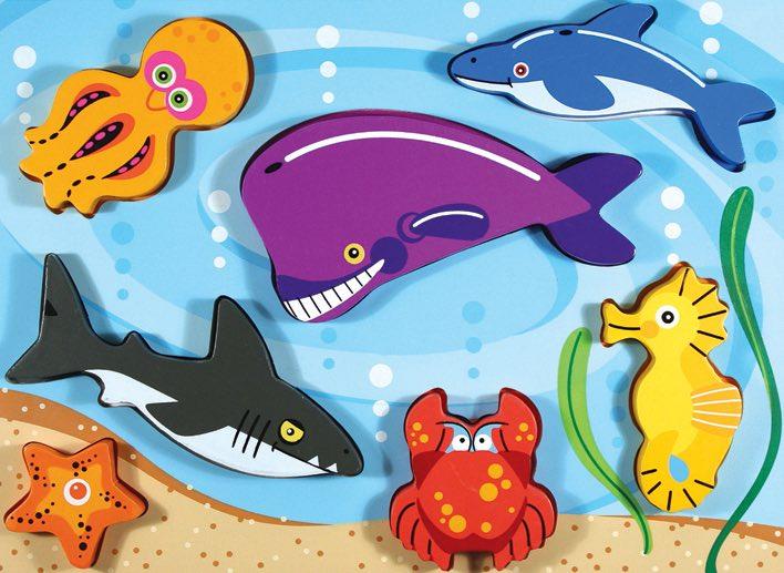 Самые большие и маленькие обитатели океанов.