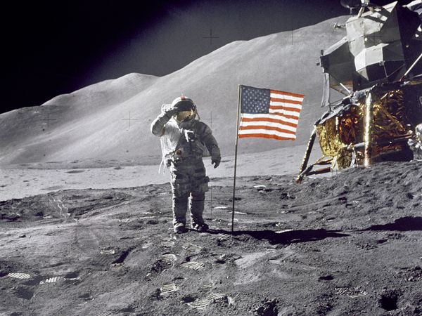 Moon Landing 40th Anniversary Rare speech from Neil