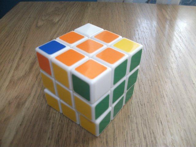 Легкий способ собрать кубик-рубика