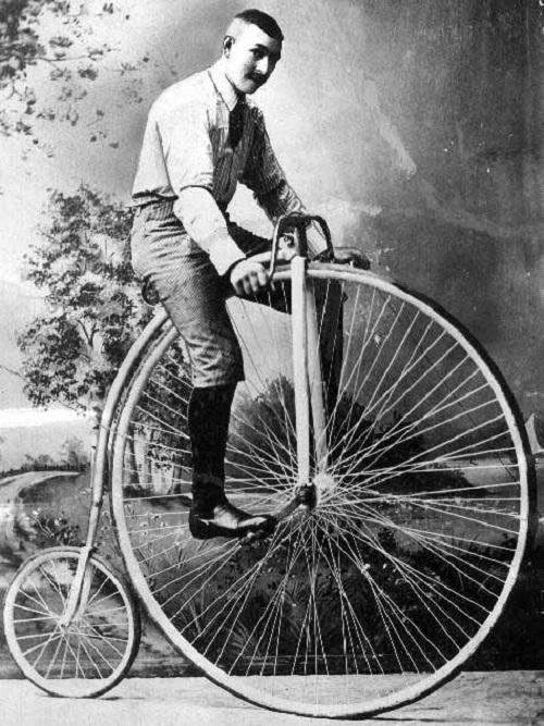 Как изобрели велосипед