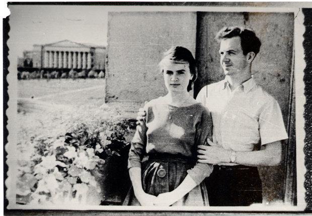 Фотография Освальда с женой