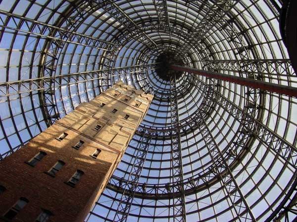 Дроболитейная башня в Австралии
