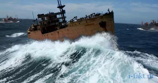Загадочное судно вернулось через 90 лет