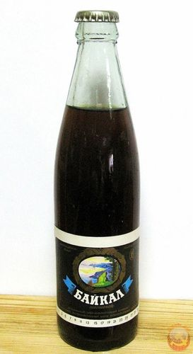 Газированный напиток Байкал из СССР