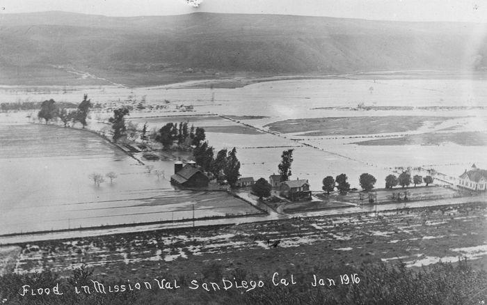 Потоп в Сан-Диего