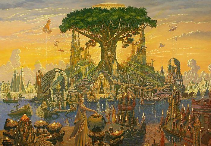 Где находится сказочный остров Буян