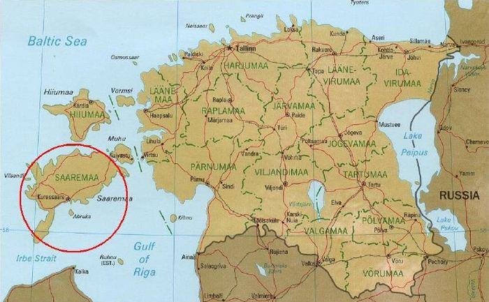 Остров Сааремаа