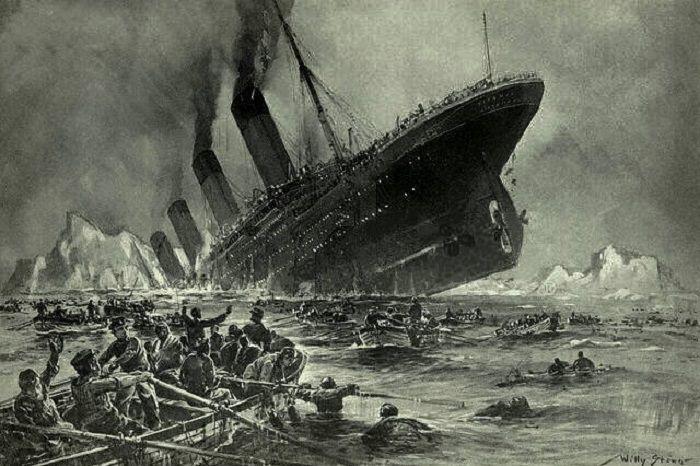 Титаник погубила мумия