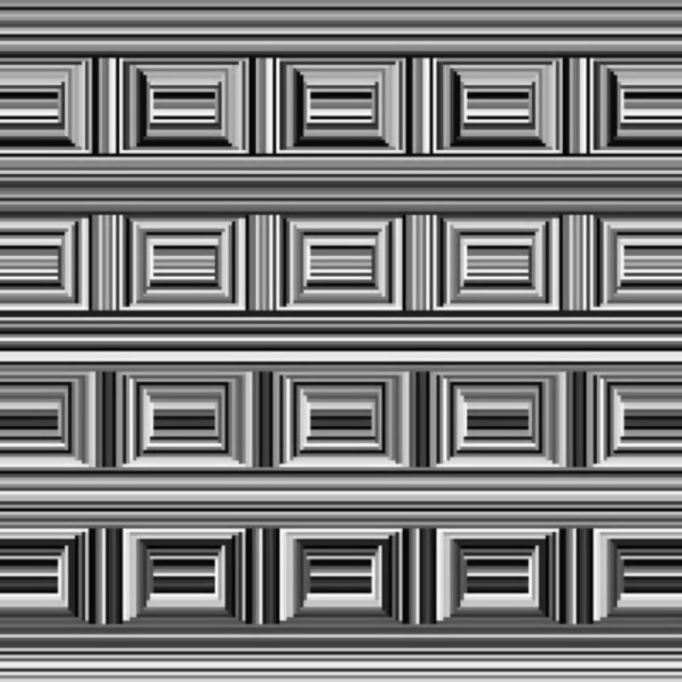 კესონის ილუზია: აღმოაჩინე სურათზე 16 წრე