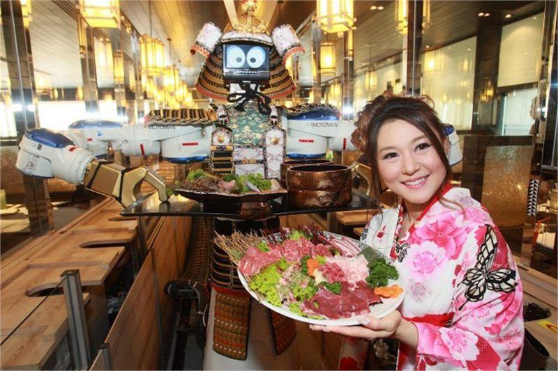 Ресторан с роботами