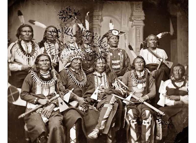 Совет старейшин племени 1865 год
