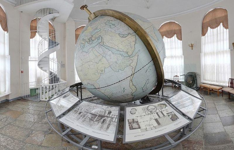 глобус Кусткамеры