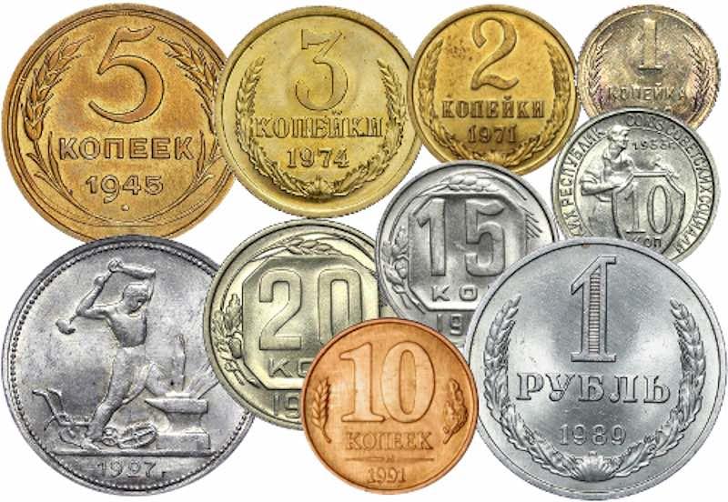 Факты про монеты СССР