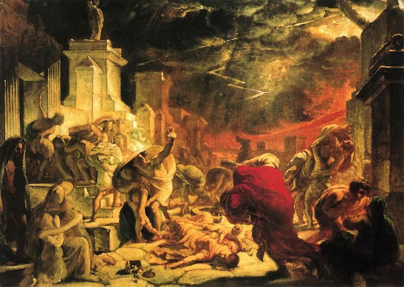 Интересные факты о гибели Помпеи.