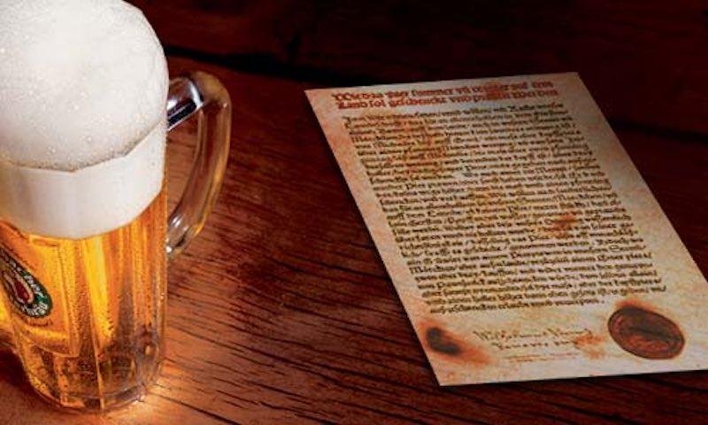 Интересные пивные законы.