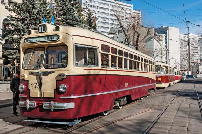 Факты о московском трамвае.