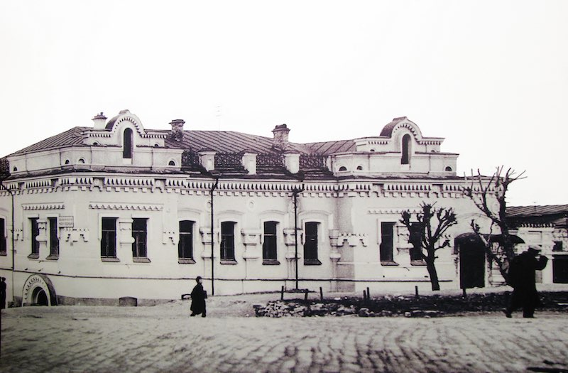 Дом Ипатьева - место гибели царской семьи.