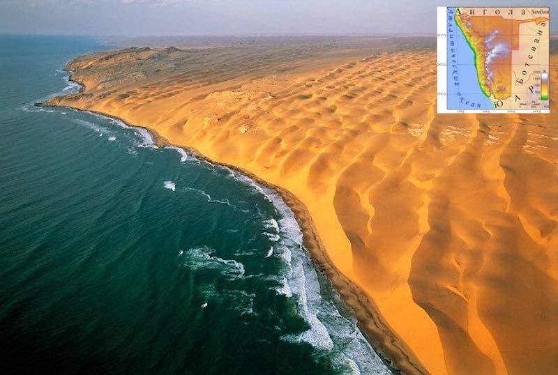 Интересные факты о Намибии.