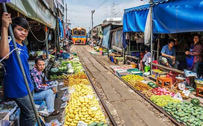 Самые необычные рынки мира.