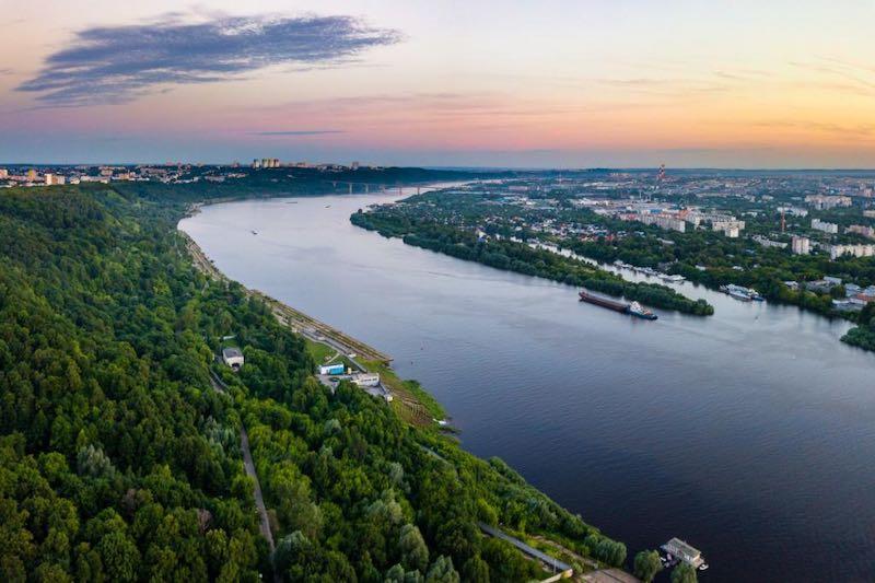 Интересные факты о реке Оке.