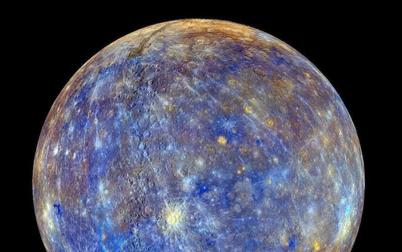 Интересные факты о планете Меркурий.