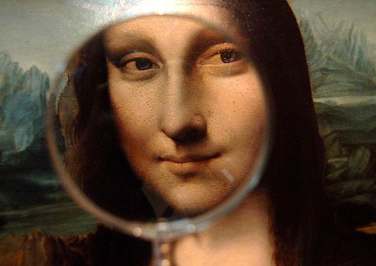 Интересные факты о картине Мона Лиза.