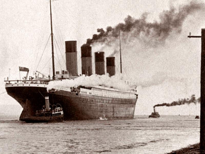 Интересные факты о Титанике.