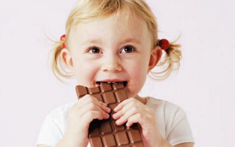 Загадка про шоколадку