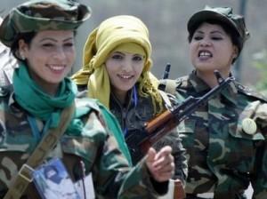 Невинные охранницы полковника Каддафи