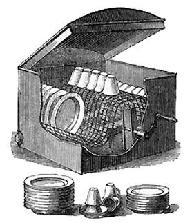 Посудомоечную машину придумала женщина