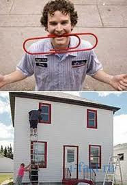 Обменял скрепку на дом