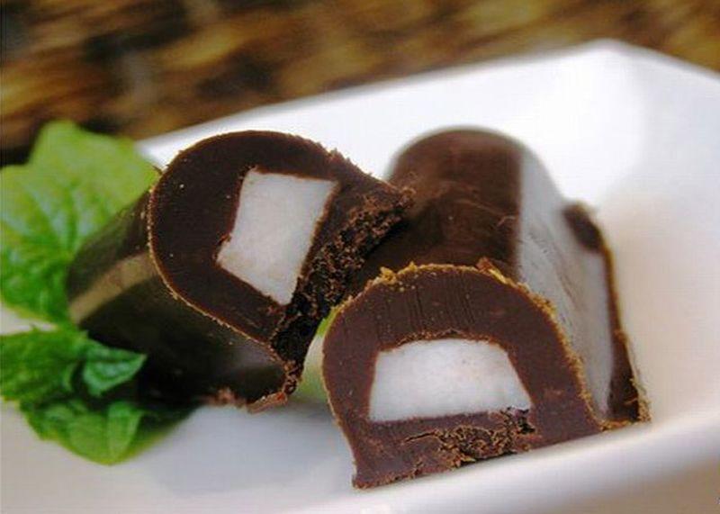 Рецепт сала в шоколаде.