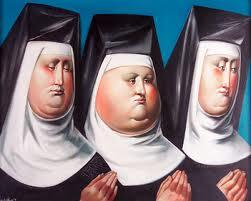 Загадка про монахинь и свечи