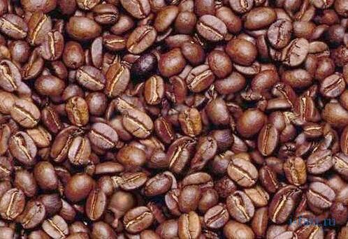 Найди лицо в кофейных зернах