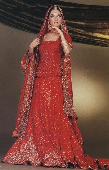 Свадебные платья разных народов и культур 7