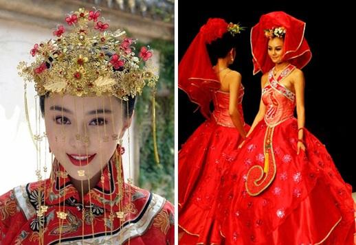 Свадебные платья разных народов и культур 1