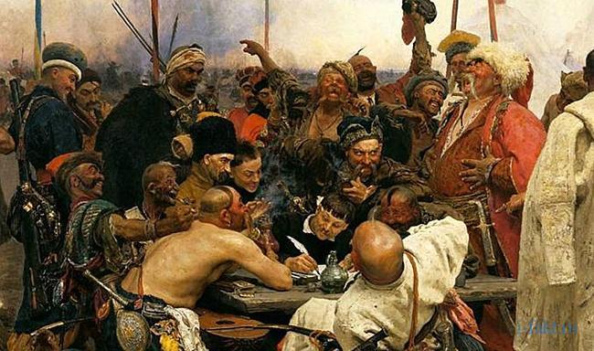 Что ответили запорожские казаки турецкому султану