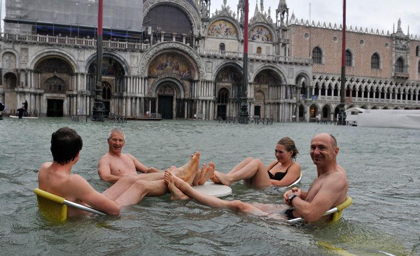 затопление венеции