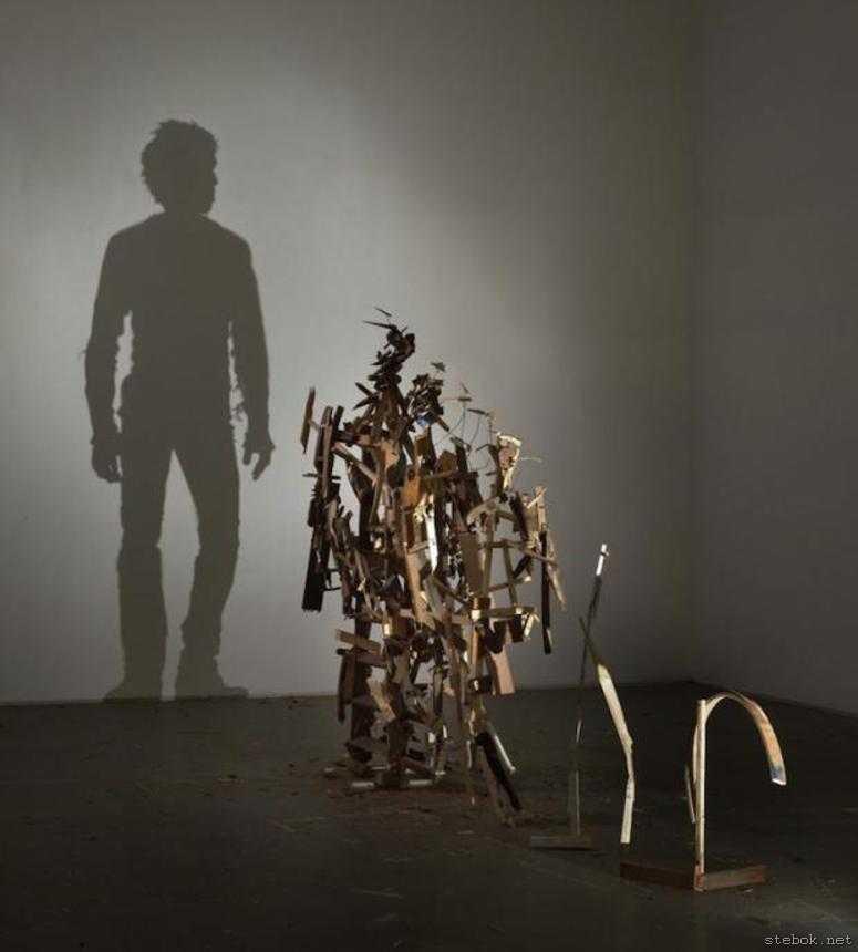 скульптуры из мусора
