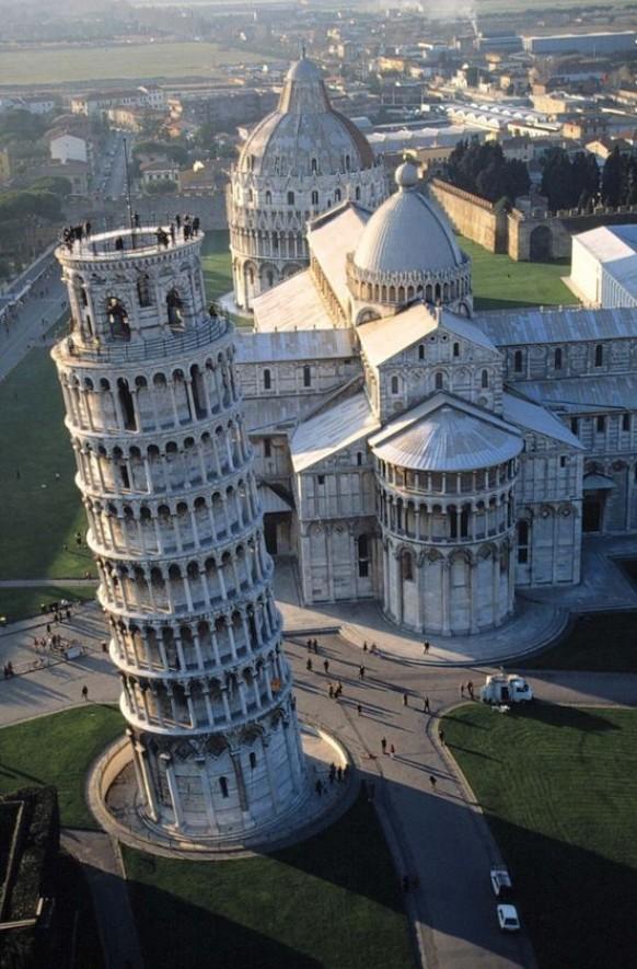 Интересные факты о Пизанской башне 2