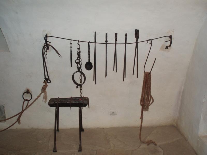 Средневековые инструменты пыток