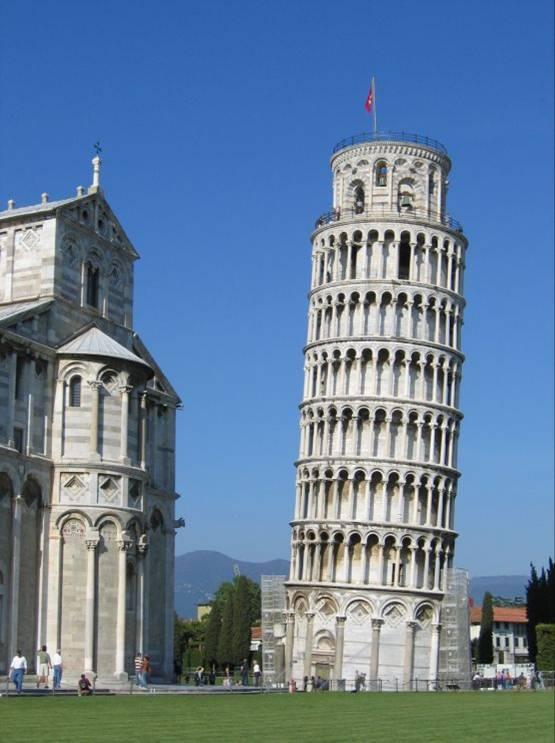 Интересные факты о Пизанской башне 1