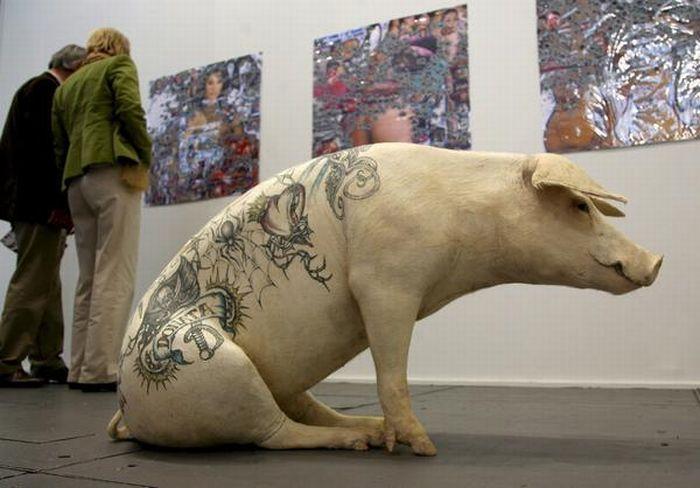 Салон татуировок для свиней 1