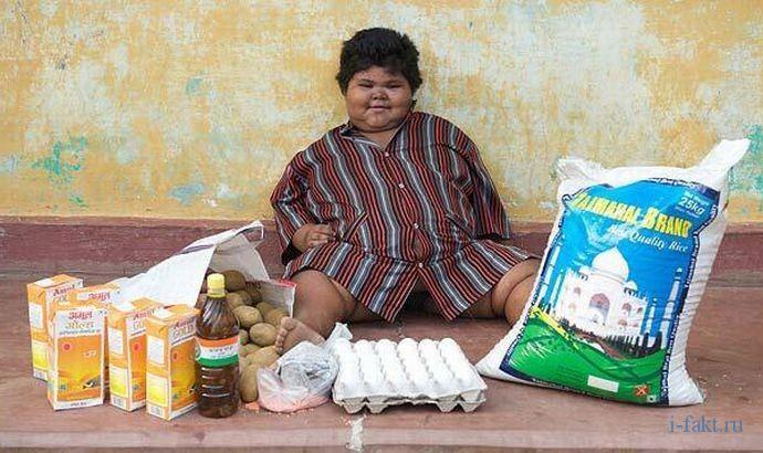 Самый толстый ребенок