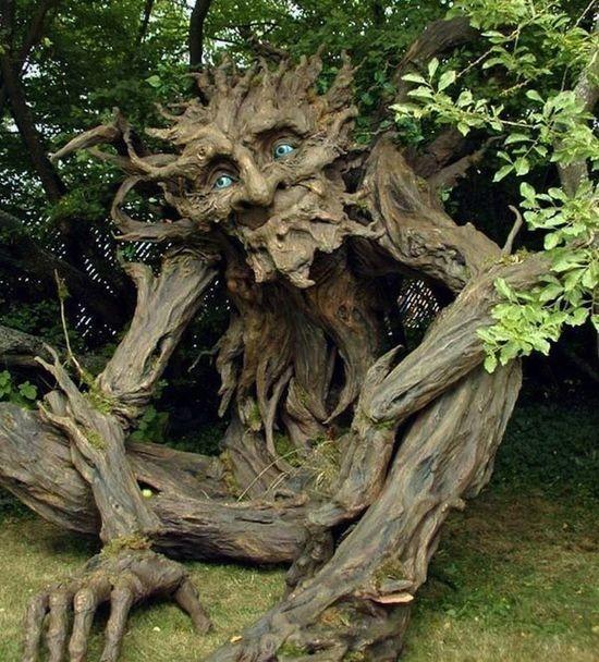 Древесный Тролль в честь отца 3