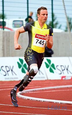 Чемпион по бегу без ног 1