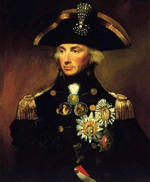 На каком глазу адмирал Нельсон носил повязку 2