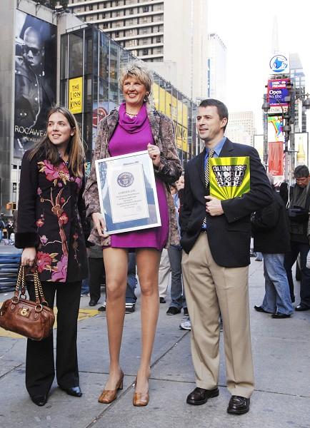 Самые длинные ноги в мире 3