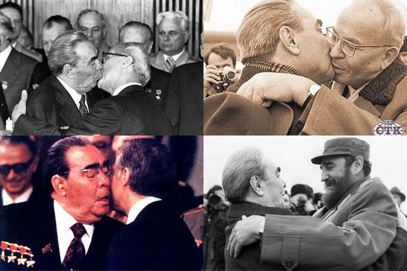 Интересные факты про поцелуй Брежнева