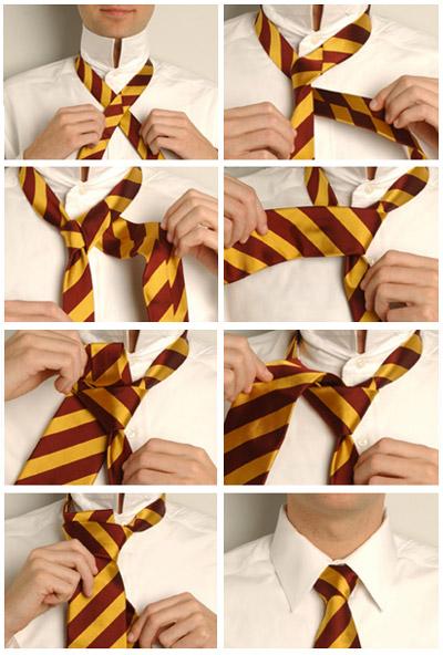 Как завязать галстук 9